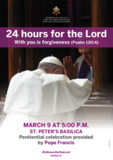 24 Hours for the Lord 2018