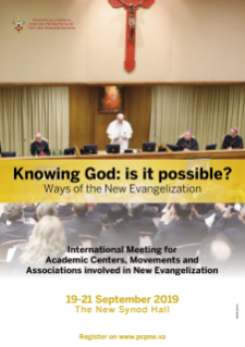 Meeting God: is it possible? Ways of New Evangelization
