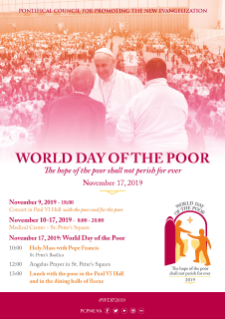 Press Release - Third World Day of the Poor