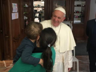 Mercy Friday: Pope visits women in semi-detention with young children