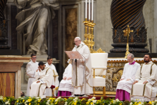 Pope at Mass: go up to God to go down to others